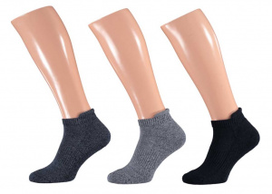 Apollo sports socks Basic cotton multiblue 3 pairs
