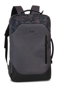 Bestway travel backpack 40 litres polyester grey/black