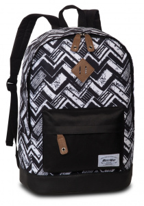 Bestway backpack Campus Trend 31 x 43 x 20 cm polyester black/white