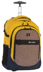Bestway backpack Evolution Roller 21 liter polyester yellow/grey