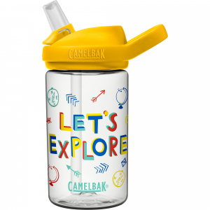 CamelBak drinking bottle Eddy+ Kids Let's Explore 400ml tritan yellow