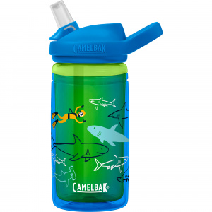 CamelBak drinking bottle Eddy+ Kids isolated 400 ml tritan blue