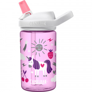 CamelBak drinkfles Eddy+ Kids Unicorn Party 400 ml tritan paars