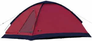 Camp Active dome tent double 200 x 120 cm red