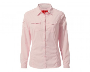 Craghoppers blouse NosiLife Adventure II dames polyester roze