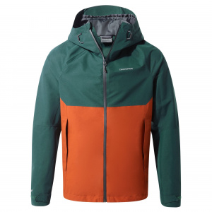 Craghoppers outdoor-Jacke Caleb GoreTexHerren dunkelgrün/orange
