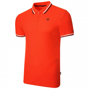 Dare 2B poloshirt Jenson Button Edit men cotton orange