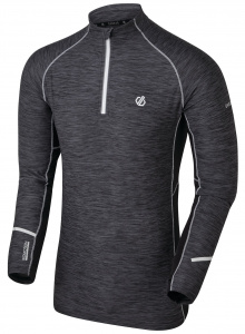Dare 2B thermoshirt Reacticate polyester donkergrijs