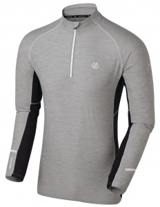 Dare 2B thermoshirt Reacticate polyester grijs