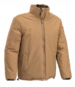 Defcon 5 outdoor jacket Giacca mens nylon beige/army green