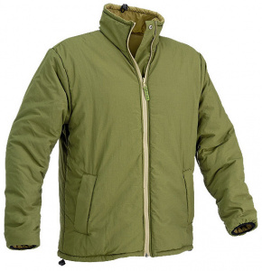 Defcon 5 outdoor jacket Giacca mens nylon olivegreen/beige