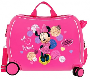 Disney kinderkoffer Minnie Mouse 50 cm ABS 34 liter roze