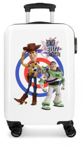 Disney children's case Toy Story 55 cm ABS 32 litres white/blue