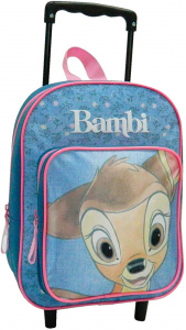 Disney trolley backpack Bambi girls 24 x 31 cm polyester blue