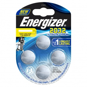 Energizer batterie-Knopfzelle Ultimate Lithium 3V CR2032 4 Stück