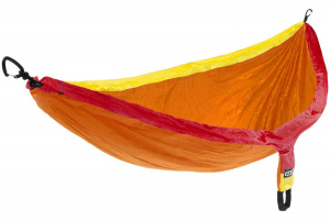 Eno hammock Doublenest 2,8 x 1,4 m nylon orange/yellow 3-piece