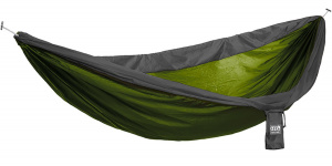 Eno hammock 2Supersub,8 x 1,9 m nylon green/grey 2-piece