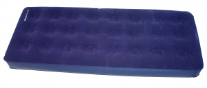 Eurotrail air mattress Simple190 x 74 x 22 cm flocked PVC navy