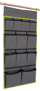 Eurotrail organizer Derby large 49 x 100 cm polyester grijs/lime