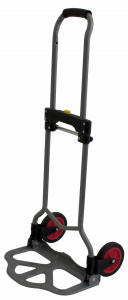 Eurotrail trolley Porterfoldable 70 x 38.5 cm steel grey