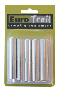 Eurotrail spacer stick 8,5 mm aluminium silver 10 pieces