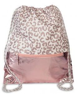 Fabrizio backpack drawstrings 37 x 45 cm pink