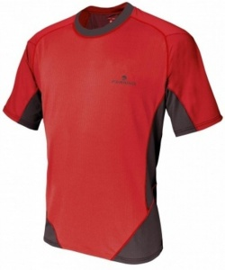Ferrino T-shirt Glasshouse heren rood/zwart