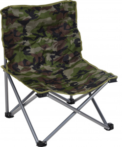 Free and Easy campingstoel camouflage 58x14x14 cm
