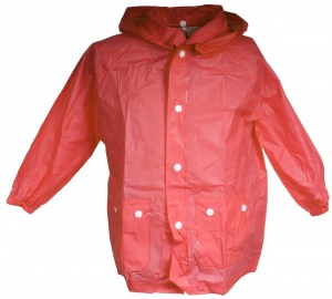 Free and Easy rainponcho junior red