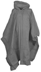 Free and Easy regenponcho unisex grijs one size