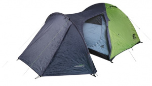 Hannah tent Arrant 3 3-persoons 370 cm polyester groen/grijs