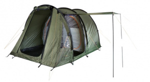 Hannah tent Barrack 4 4-persoons 410 cm polyester donkergroen