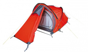 Hannah tent Rider 2 2-persoons 300 cm polyester rood