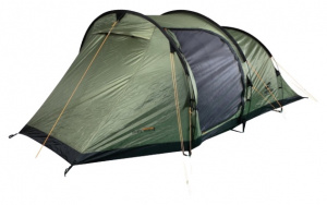 Hannah tent Shelter 4 4-persoons 480 cm polyester donkergroen