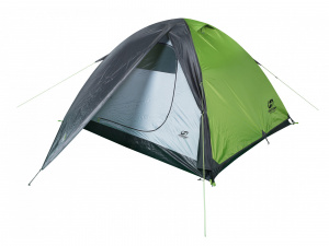 Hannah tycoon 4-person tent 290 x 220 cm polyester green/grey