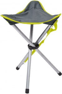 Happy People silla camping Tripod47 cm gris