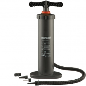 Happy People hand pump 30l with double action 50 cm black