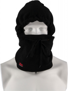 Heat Keeper ski cap waterproof men's polyester black one-size