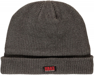 Heat Keeper hat ladies fleece/acrylic/cotton grey size one-size