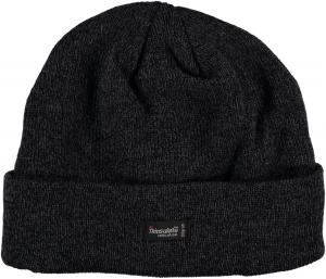 Heat Keeper hat men's acrylic anthracite size one-size