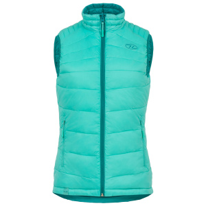 Highlander bodywarmer Reversible dames mint/groen