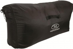 Highlander rain cover 40-100 litres polyethene black