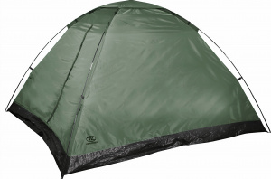 Highlander tent Monodome 3 polyester 210 x 240 x 130 cm green
