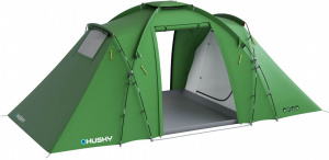 Husky familietent Boston Dural 4-persoons polyester groen