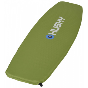 Husky frosty sleeping mat 180 x 51 x 2.5 cm polyester green