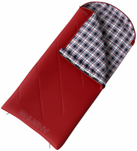 Husky galy junior sleeping bag 70 x 170 cm polyester red