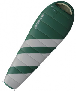 Husky sleeping bag Magnum 85 x 220 cm polyester green/grey