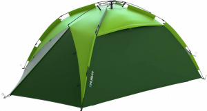 Husky tent Beasy 3-persoons polyester 340 x 190 cm groen