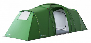 Husky tent Boston 6-persoons 630 x 260 cm polyester groen