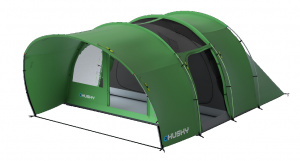 Husky tent Bowad 4-persoons polyester 455 x 320 cm groen